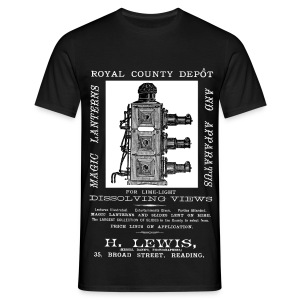 Lewis Photographer, Reading (Front) - Men's T-Shirt