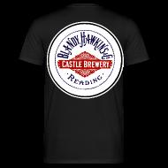 T-Shirts ~ Men's T-Shirt ~ Blandy & Hawkins' Castle Brewery, Reading (Back)