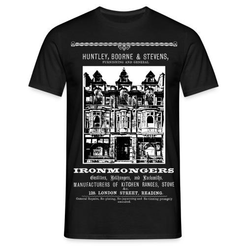 Huntley, Boorne & Stevens, Reading (Front) - Men's T-Shirt