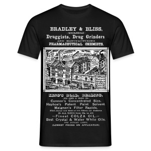 Bradley & Bliss, Reading (Front) - Men's T-Shirt