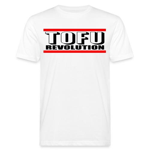 Tofu Revolution Bio T-Shirt Weiss - Männer Bio-T-Shirt
