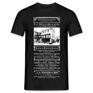 TC Williams, Reading (Front) - Men's T-Shirt