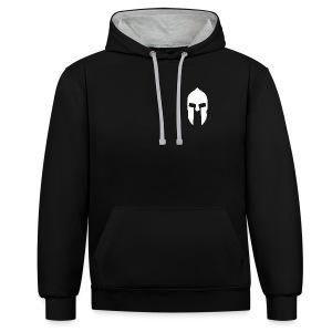 Spartan Hoodie 2 - Kontrast-Hoodie