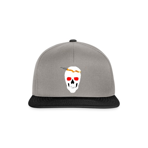 Skull Snapback - Snapback Cap