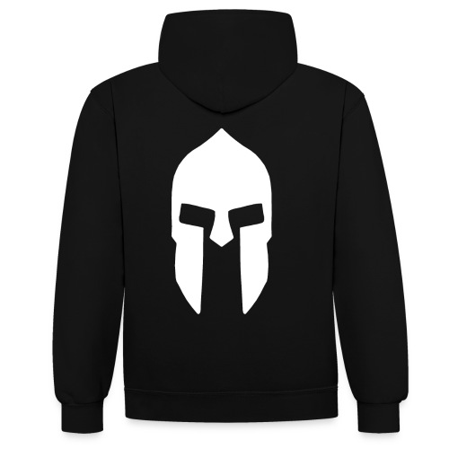 Spartan Hoodie 3 - Kontrast-Hoodie