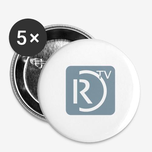 56mm Button - Buttons groß 56 mm (5er Pack)