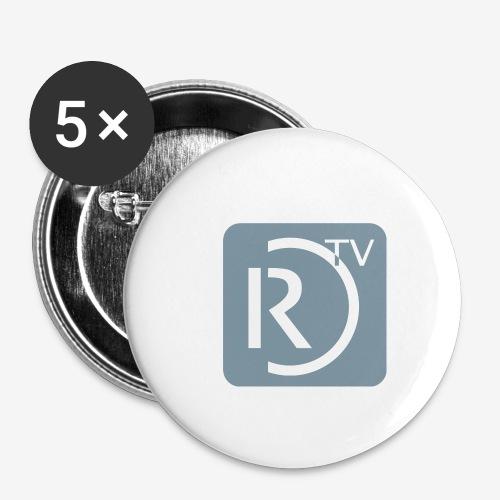 32mm Button - Buttons mittel 32 mm (5er Pack)