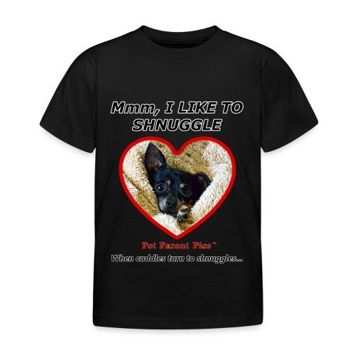 Mmm, I Like to Shnuggle - Kids T-Shirt - Kids' T-Shirt