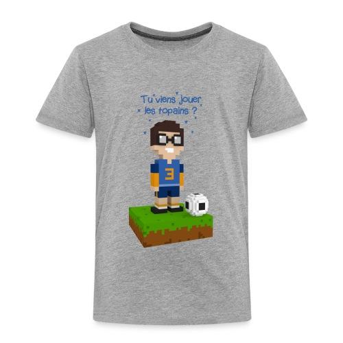 Victor joue au football - T-shirt Premium Enfant