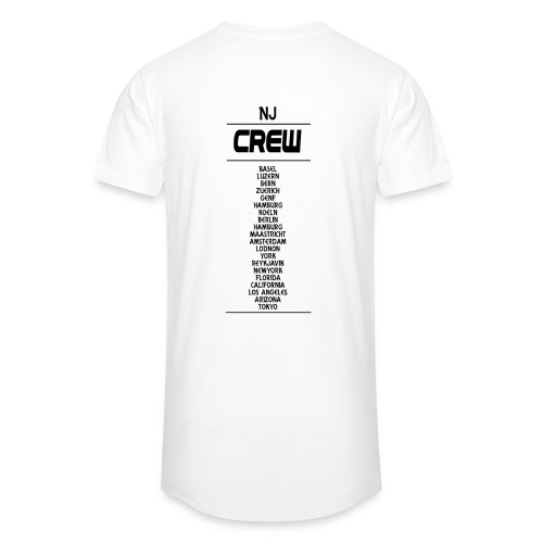 Longshirt Crew NJ withe - Männer Urban Longshirt