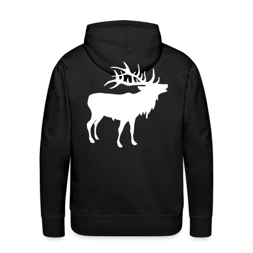 Deer Hoodie - Premium hettegenser for menn