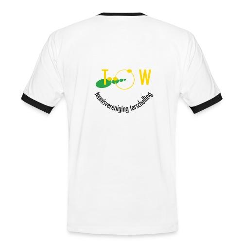 MANNEN SHIRT  LOGO - Mannen contrastshirt