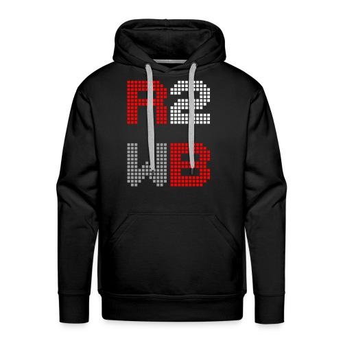 R2WB Hoodie (Black) - Männer Premium Hoodie