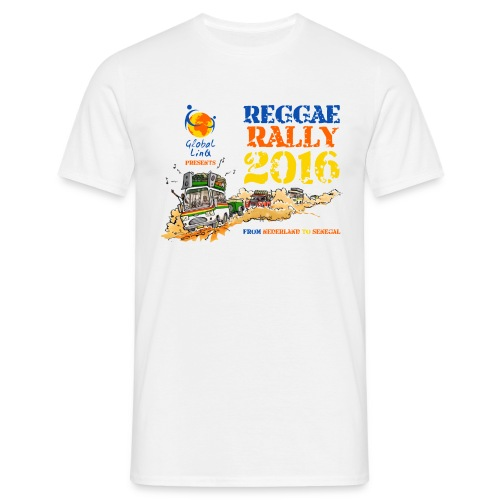 Global-linQ Reggeae Rally 2016 proto shirt - Mannen T-shirt