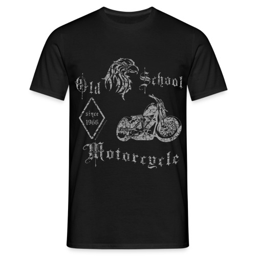 Old School Motorcycle | 1966 - Männer T-Shirt