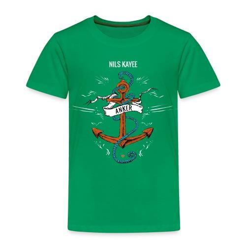 Kinder Anker-Shirt in Grün - Kinder Premium T-Shirt