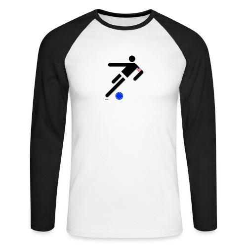 Spielball EU - Männer Baseballshirt langarm