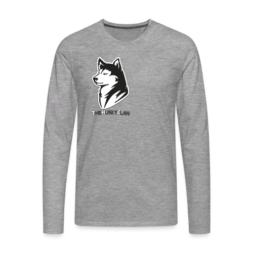 TheHuskyClan Shirt Lange Mouwen (CLAN EDITION) - Mannen Premium shirt met lange mouwen