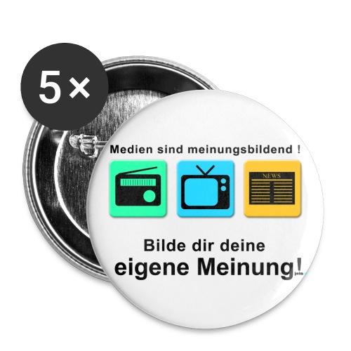 Eigene Meinung - Buttons mittel 32 mm