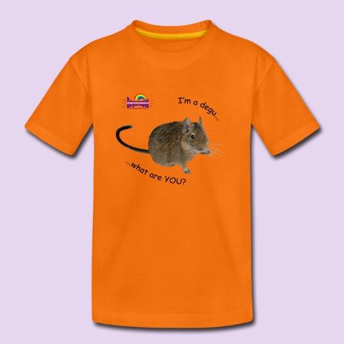 Degu What? Kids Tee - Kids' Premium T-Shirt