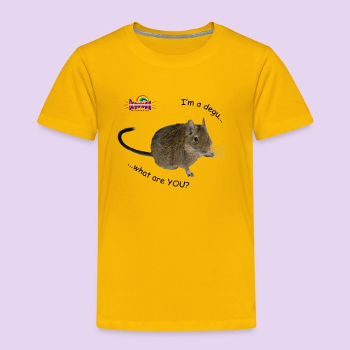 Degu What? Kids Tee - Kids' Premium T-Shirt