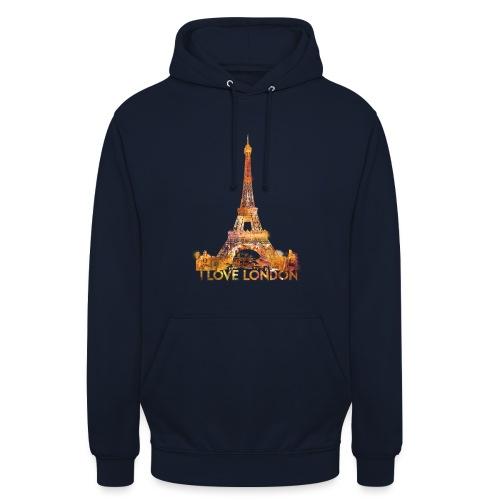 I love London 2 unisex hoodie - Hoodie unisex