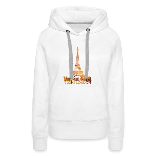I love London 2 vrouwen premium hoodie - Vrouwen Premium hoodie
