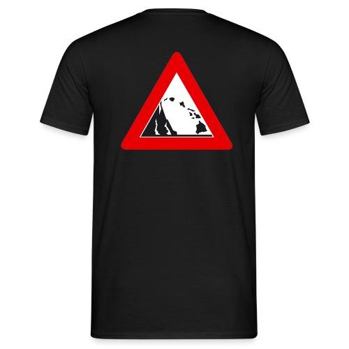 Hawaii-T-Shirt Lavaflow - beidseitig bedruckt - Männer T-Shirt