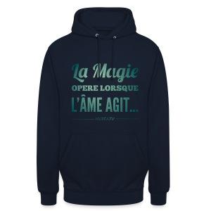 Sweat-shirt à capuche unisexe, Nuréa La Magie - Green Light - Sweat-shirt à capuche unisexe