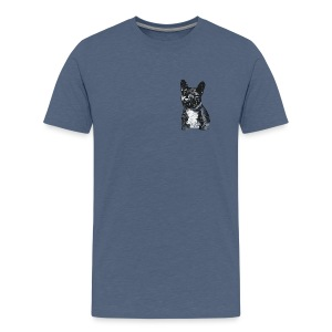 PICKLE THE FRENCHIE - Men's Premium T-Shirt
