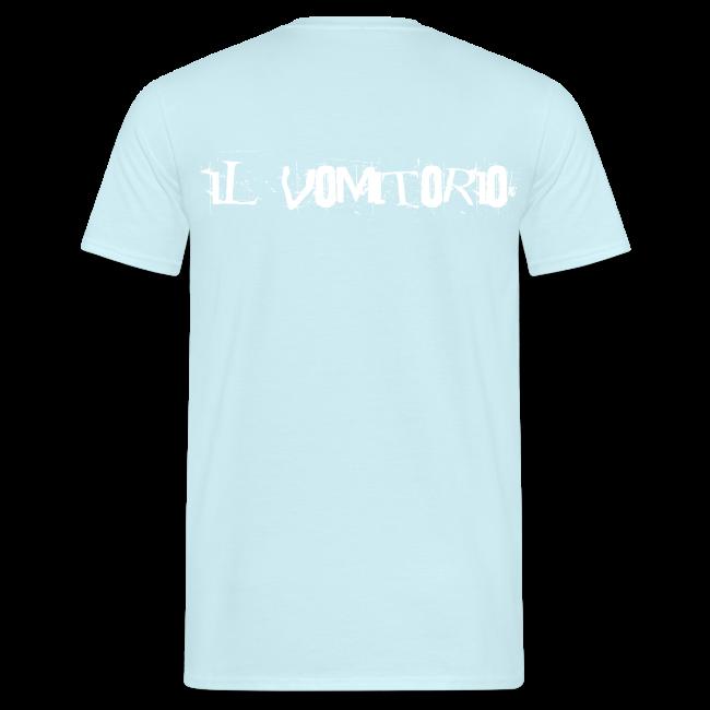 T-Shirt dito medio logo bianco
