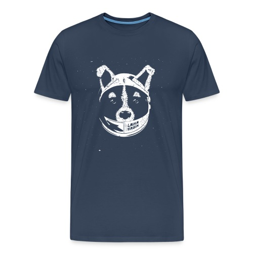 Laika Virgin - Men's Premium T-Shirt
