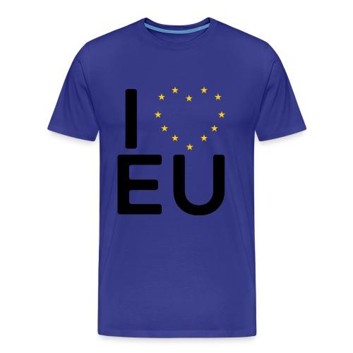 I ❤️ EU - Men's Tee - Men's Premium T-Shirt