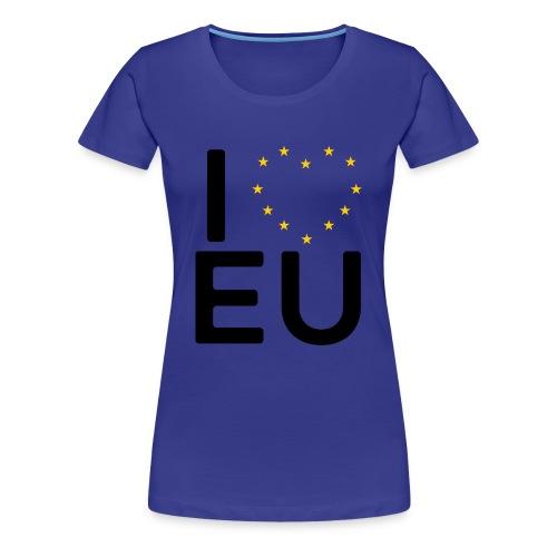 I ❤️ EU - Women's Tee - Women's Premium T-Shirt