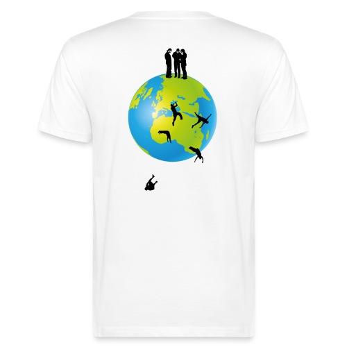 It's flat II - Männer Bio-T-Shirt