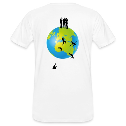 It's flat II - Männer Bio-T-Shirt