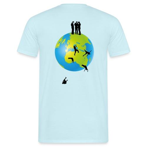 It's flat II - Männer T-Shirt