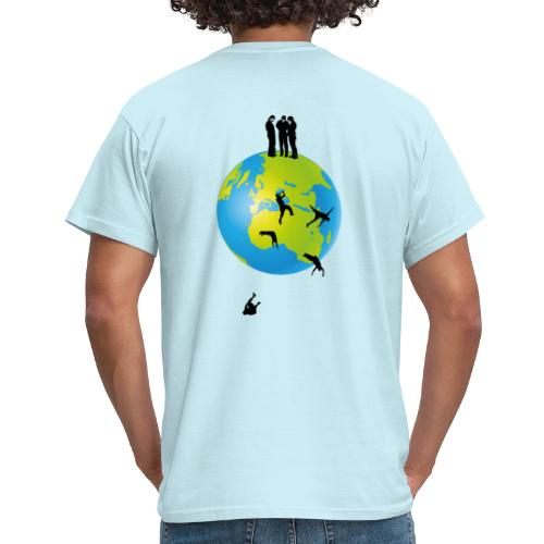 It's flat II - Männer T-Shirt