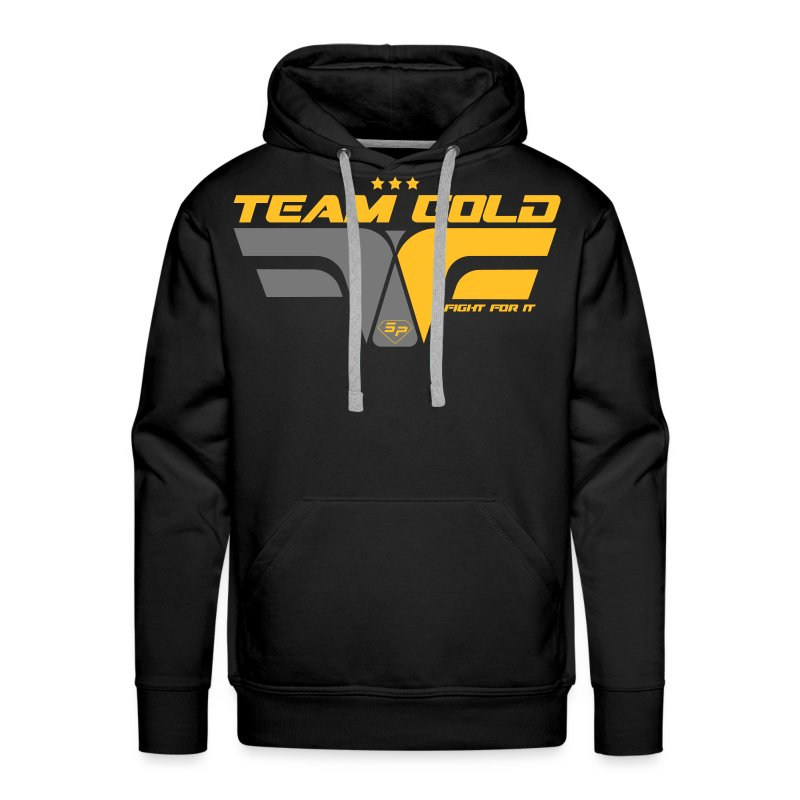 Sweat - Team GOLD - Club SuperPhysique - Sweat-shirt à capuche Premium pour hommes