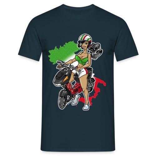 Italjet Dragster Girl - Männer T-Shirt