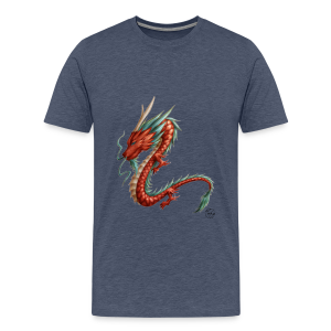 Red Dragon - T-shirt Premium Homme