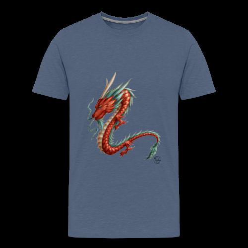 Red Dragon - T-shirt Premium Homme