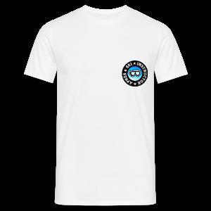 Après-Ski Instructor (Goggles/Blue) T-Shirt - Männer T-Shirt