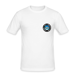 Après-Ski Instructor (Goggles/Blue) Slim Fit T-Shirt - Männer Slim Fit T-Shirt