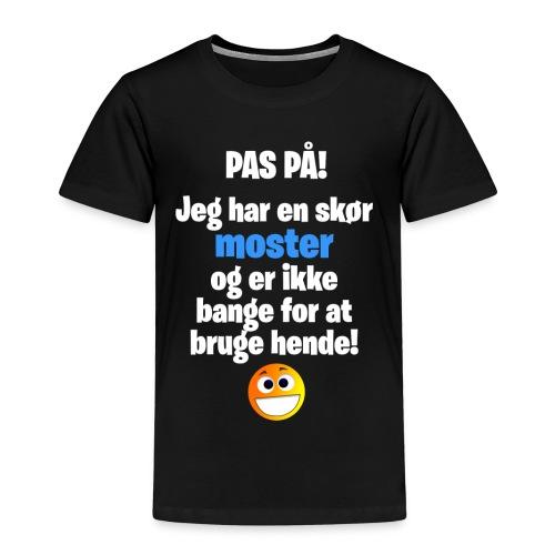 Pas På! Drenge-Udgaven (Børne-størrelse) - Børne premium T-shirt