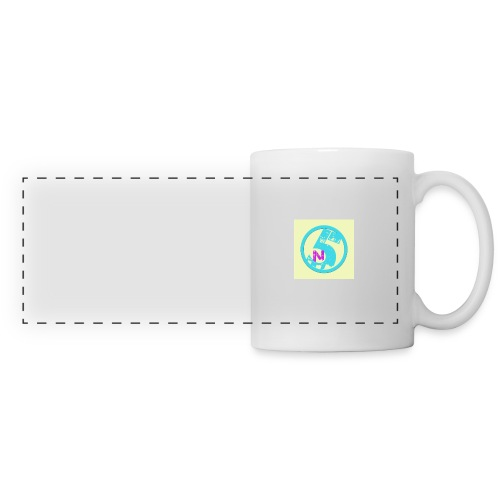 Tasse de la chaine - Mug panoramique contrasté et blanc