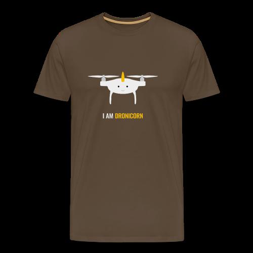 I am Dronicorn - T-Shirt für Copterpiloten - Männer Premium T-Shirt