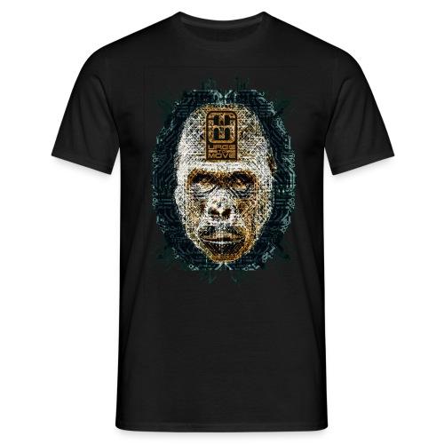 circuitgorilla head  - Männer T-Shirt