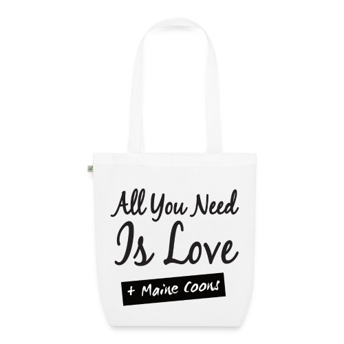 All You Need Is Maine Coons Shopper - Bio-Stoffbeutel
