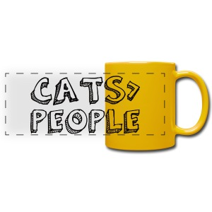 Cats Are Greater Than People Tasse - Panoramatasse farbig